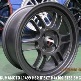 VELG MOBIL TYPE KUMAMOTO L1499 HSR R15X7 H4x100 ET35 SMG