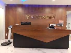 Urgent require receptionist for gym