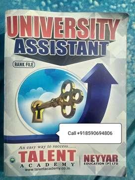 Kerala PSC Rank file University Assistant