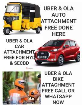 حیدرآبادUBER & OLA AUTO CAR & BIKE ATTACHMENT FREE DONE HERE