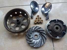 Flywhell,mangkok,variator