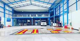 Hidrolik alat bantu cuci mobil merk Autolift
