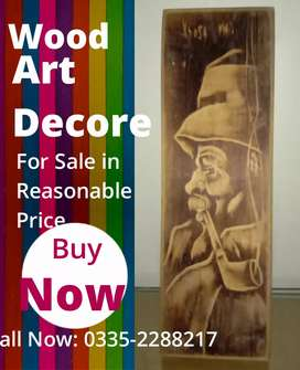 Wood Wall Hand craft decor sale in cheap price