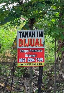TURUN HARGA LAGI! Dijual tanah tanpa Perantara, Bengkulu - Harga Nego
