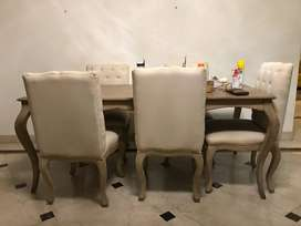 Urban Ladder Dining Table with Chairs