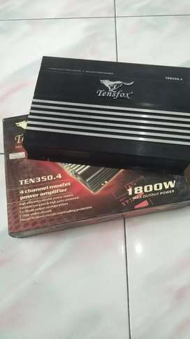 Amplifier tensfox 4 channel mosfet power (barang baru bukan bekas)