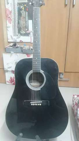 Handmade Acoustic Guitar with bag new condition