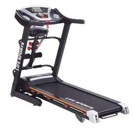 Treadmill auto incline life sport 270