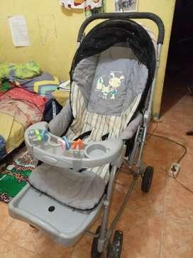 Stroller baby Crater/ kereta bayi sangat mulus