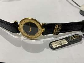 ULTRA RARE SLIM SEIKO GOLD PLATED GENTS WATCH,NEW.1980's