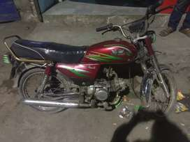 I sale my bike beacous i need money for buy a new bike