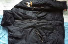 Kirim Ready COD Jaket import tebal size besar XXL black bhan enak Good