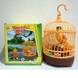 Mainan Burung Sangkar Heartful Bird Murah