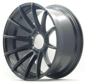 velg pajero jari2 ringg 20 lebar 9,5 hsr wheels black matte