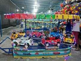 odong permainan kereta isi 6 mobil lengkap dan bergaransi