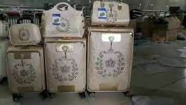 Luggage trolly bag With ladies jewelry, makeup bag