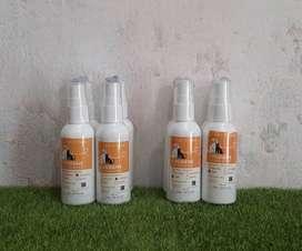 Parfum 60 ml untuk kucing atau anjing