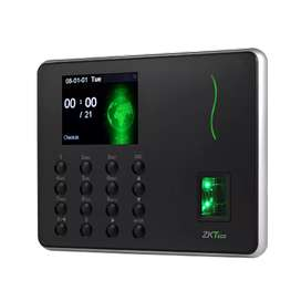 Biometric fingerprint card punch time attendance machine with software