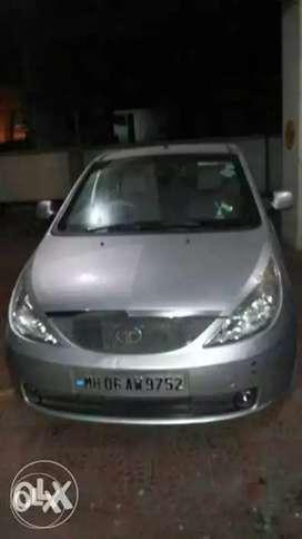 Tata Indica vista silver 2010