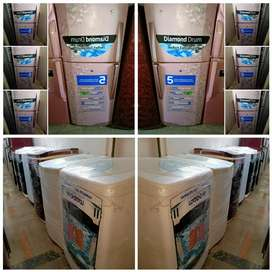 @:- Rs -:5000/- 7000 /- Fridge and AC Available 5 Yrs Warranty