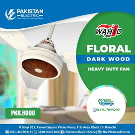 "Wahid floral model 56"" available Ceiling Fan"