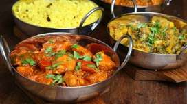 Req :- Indian Cook / Chinese Cook / Tandoor Cook / All Rounder /