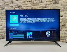 """32"""" LED TV - Android Plus Frameless Design &  20 Watt Speaker System"""
