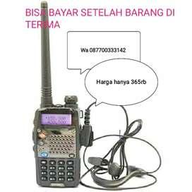 Ht baofeng taffware pofung uv 5RD dual band bukan icom/alinco/Motorola