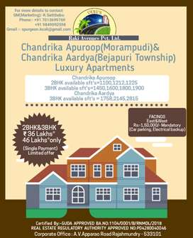 3bhk luxury flats are available in Rajahmundry