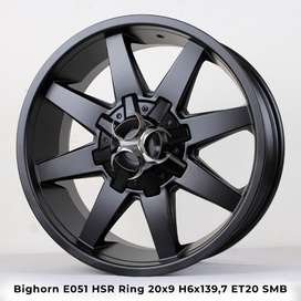 Velg Mobil Big Horn Ring 20 Hardtop, Hilux Double, Pajero Cicilan 0%
