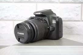 ISTIMEWA Canon 1300D kit Wifi Box Lengkap Sc 6k Bonus Banyak
