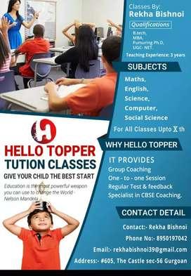 Hello Topper Tutor