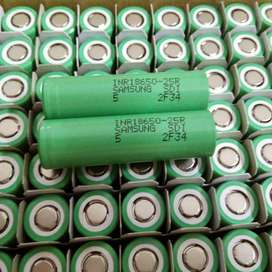 Capacity rechargeable lithium Battery 18650
