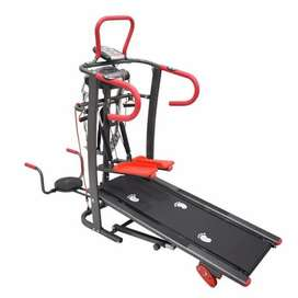 Treadmill Manual 6 Fungsi Diskon Termurah Fitness Olahraga