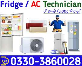Fridge Technician available