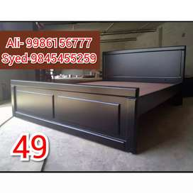 Cot 4×6 size mini double bed 4250 with storage 6500