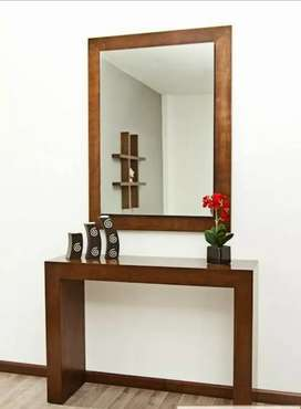 New dressing tables  with wall mirror in best quality