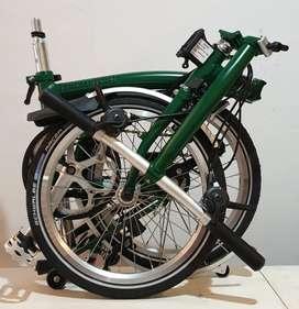 Brompton S6L Racing Green BNIB