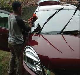 Khusus pemasangan kaca Film mobil