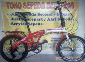 Jual sepeda lipat, BMX, MTB ,Mini