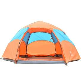 Automatic Double Layers High Quality Automatic Camping Tents 5 Persons