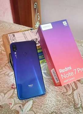 Redmi note 7pro 6gb 128gb rarely use in warranty