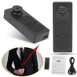 HD Mini DVR Button Pinhole Spy Hidden Video Recorder Camera