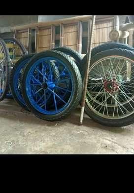 Roda gerobak ruji montor