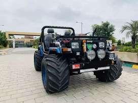 Black Horse Modified Hunter Jeep