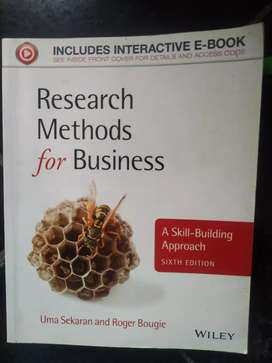 Research Method for Bussiness six edition