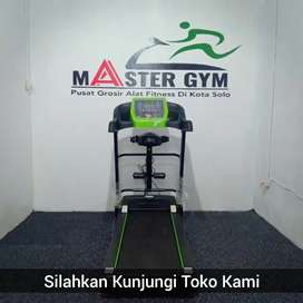 Treadmill Elektrik Fitnes MG/A207 - Alat Olahraga - Kunjungi Toko Kami