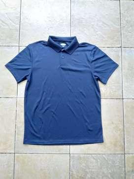 Kaos Kerah Old Navy Moisture Wicking Tricot Polo Shirt Original