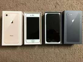 I Phone 8 64 GB Black and White Golden No Used | Fresh