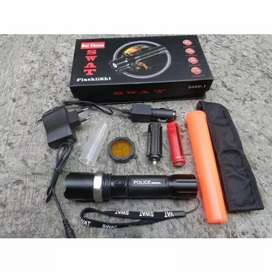 Paket Senter SWAT Lalin + Cone Rechargeable
